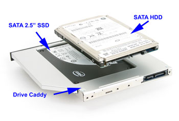 2nd HDD / SSD caddy, Acer TimelineX 5820t (5820)