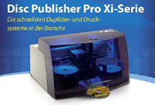 Disc Publisher PRO Xi Serie