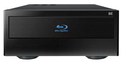 Dune HD Smart BE Extension. Erweitert die o.a. Basismodule D1 oder H1 Player um ein Blu-ray Laufwerk