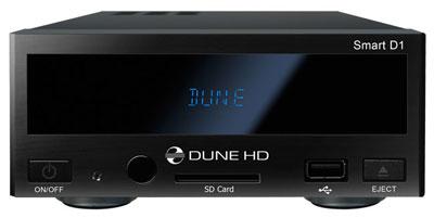 """Dune HD Smart D1 - Der neue, modulare Netzwerk HD Media Player, ohne Laufwerke (intern 3.5"""" Festplatte nachrüstbar), mit einem Frontdisplay"""