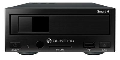"""Dune HD Smart H1 - Der neue, modulare Netzwerk HD Media Player, mit von vorne wechselbarer 3,5"""" Festplatte"""