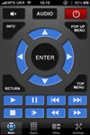 Dune Remote iPhone / iPad App Ansicht 1