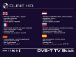 DVB-T USB Stick für die Dune HD Media Player 3.0