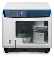 Epson DiscProducer PP-100 bis zu 100 Medien in zwei Brennern kopieren und in Farbe bedrucken