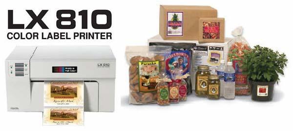 Primera Etikettendrucker LX810