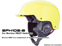 SPH10S-B Hedset mit Intercom für BURTONRED Helme (Die Lieferung erfolgt ohne den Helm)