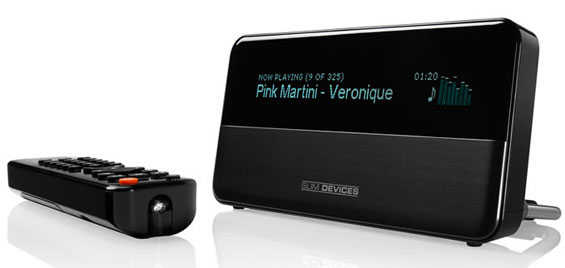 Netzwerk Audio Streaming Player SqueezeBox