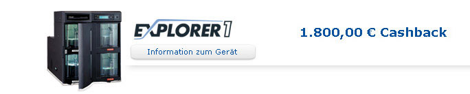Informationen zum Explorer 1 CD + DVD Disc Publisher